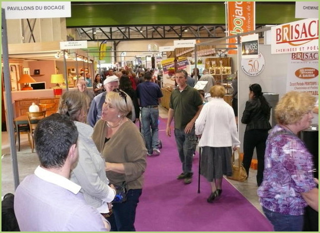 The exhibition fairs