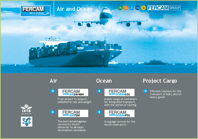 FERCAM is also air and ocean